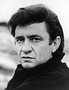 Headshot Portrait Of Johnny Cash